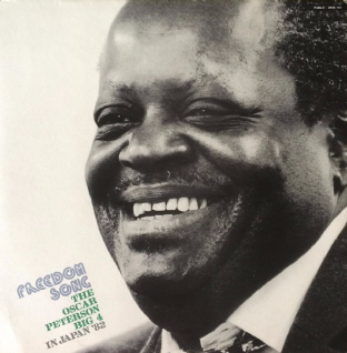 Oscar Peterson Big 4 ‎(The) - Freedom Song: In Japan '82 (LP) (EX-/EX-)